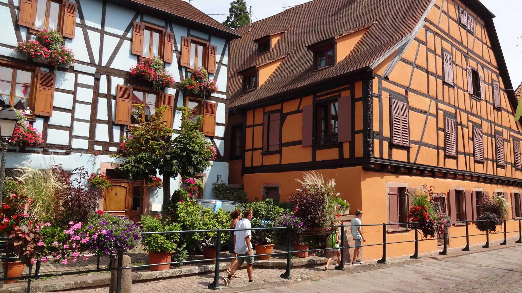 Maison à colombage Ribeauvillé alsace
