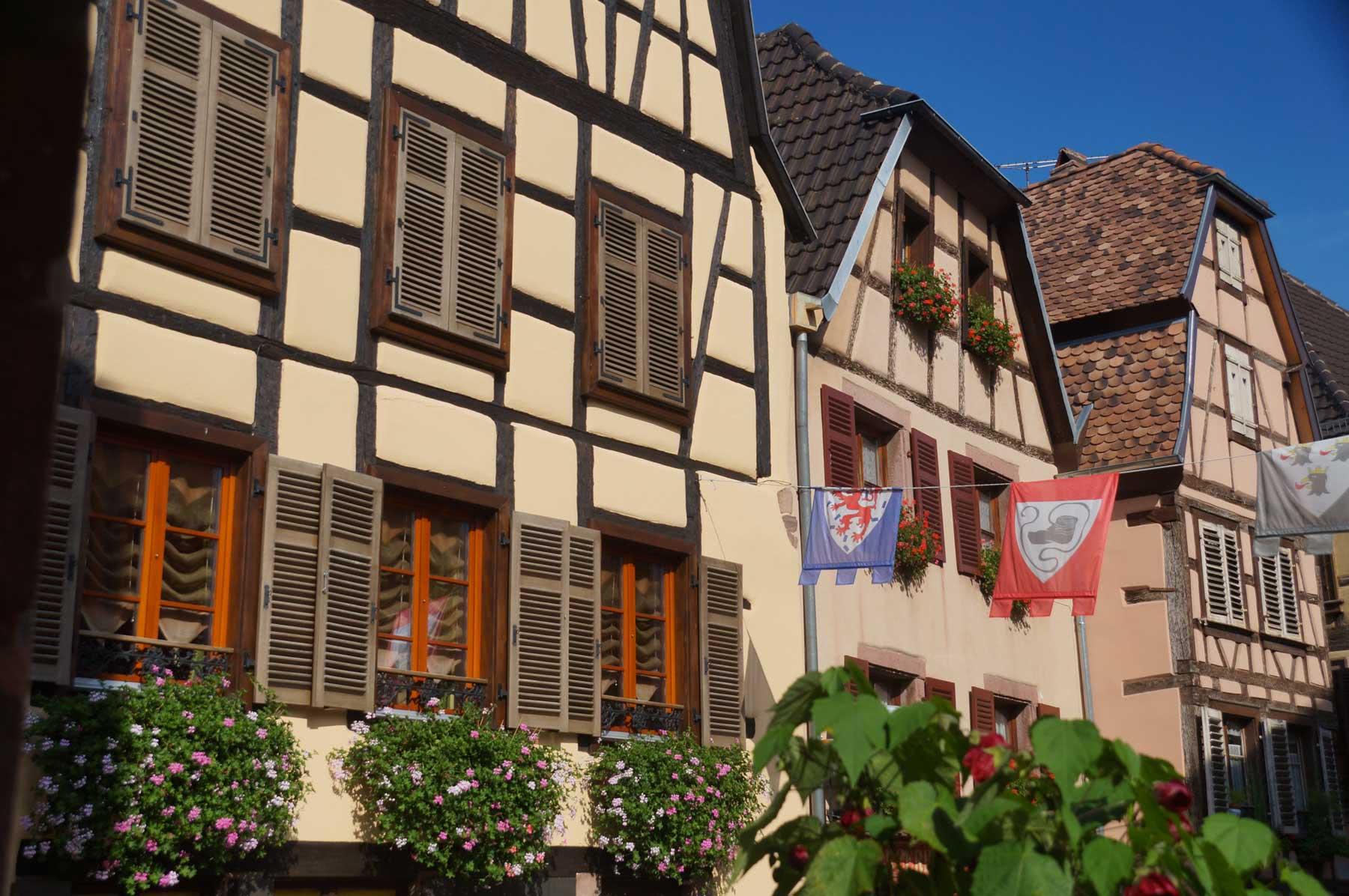 Maisons à colombage en Alsace