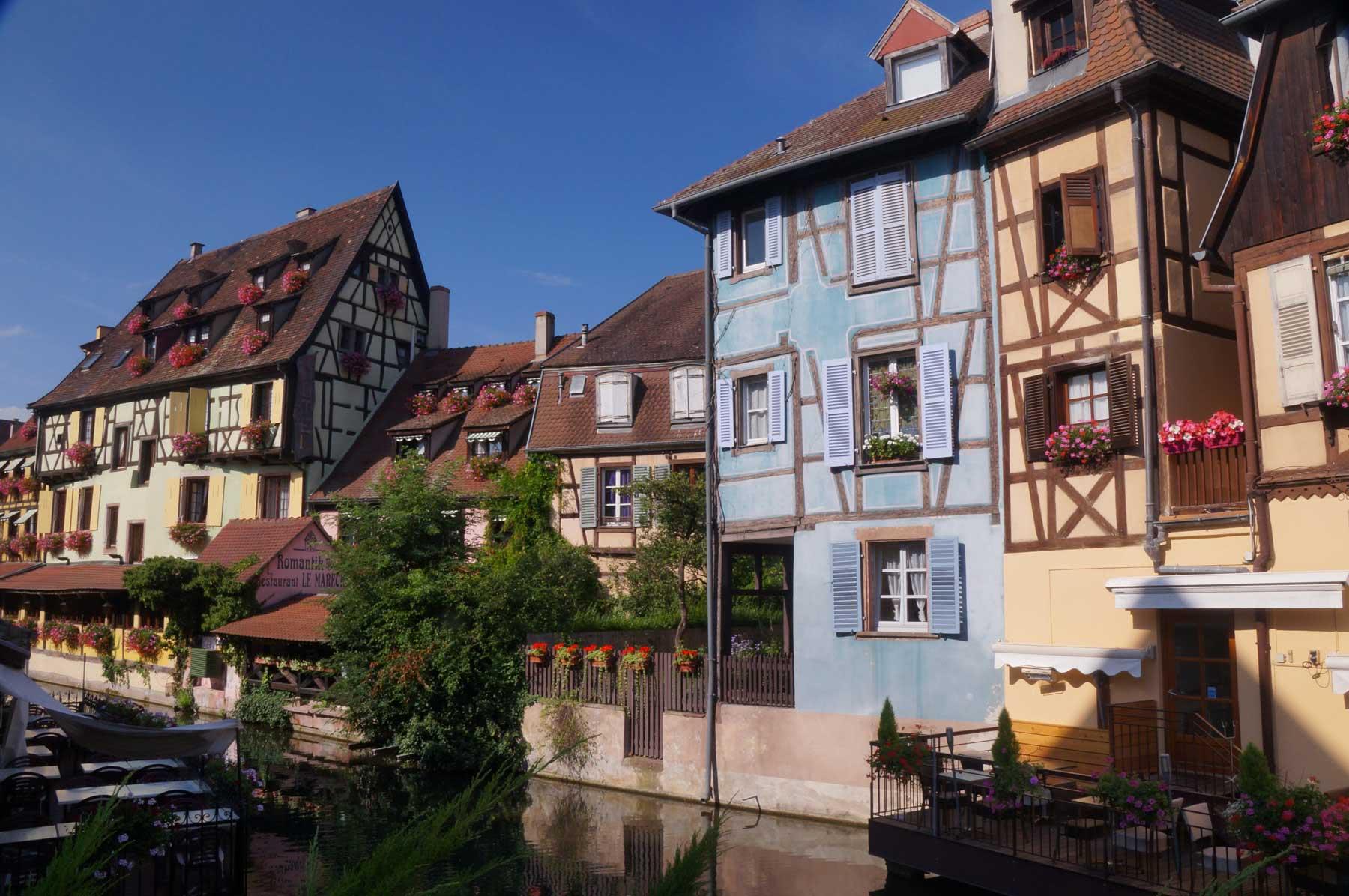 Petite Venise à Colmar en Alsace